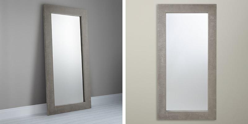John Lewis Concrete Leaner Mirror