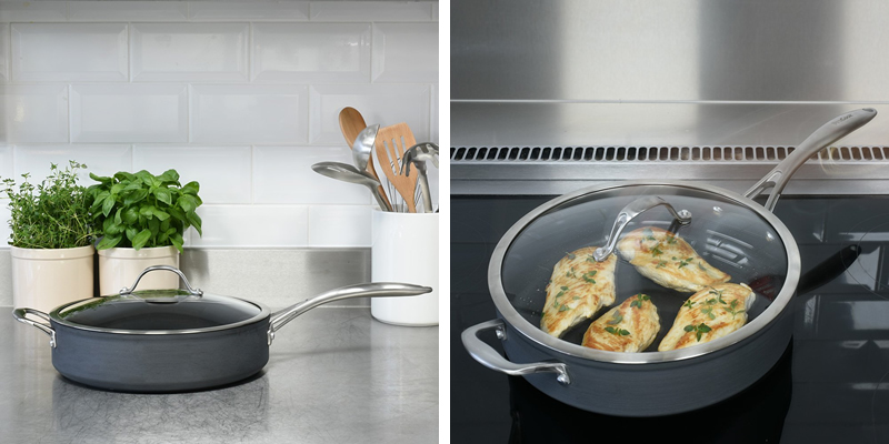 ProCook Professional Anodised Saute Pan
