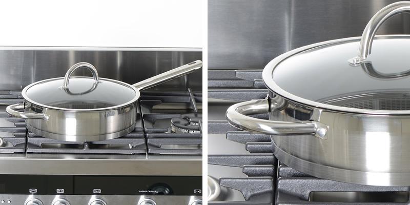 ProCook Professional Steel Saute Pan