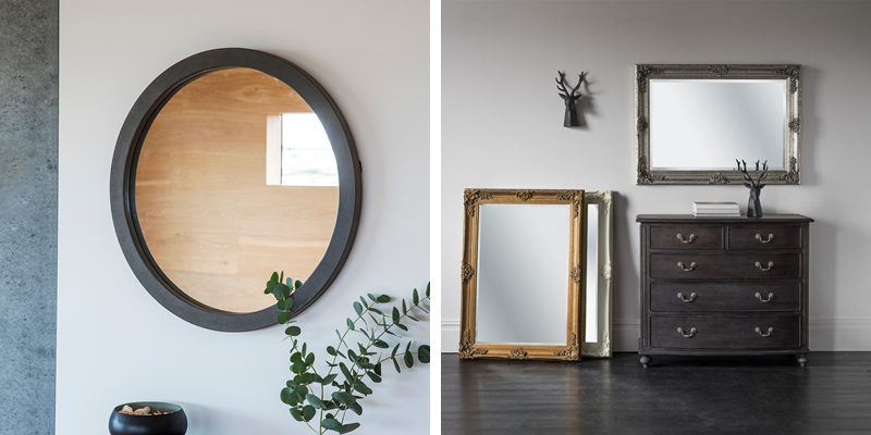 Round and Rectangle Mirrors