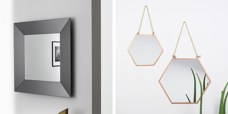 Square and Hexagon Mirrors
