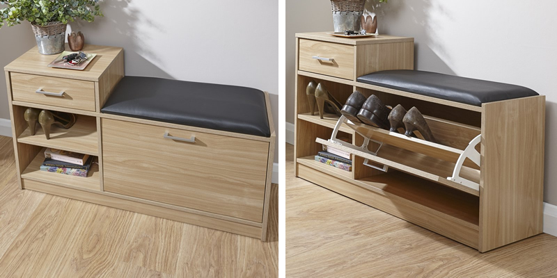 Palatine Shoe Storage Cabinet by Three Posts