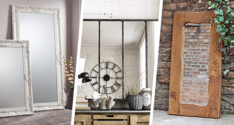 Vintage, Industrial and Rustic Mirrors