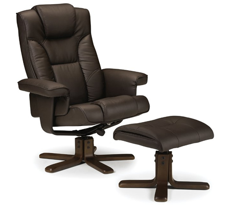 Annandale Swivel Recliner and Footstool by Wade Logan