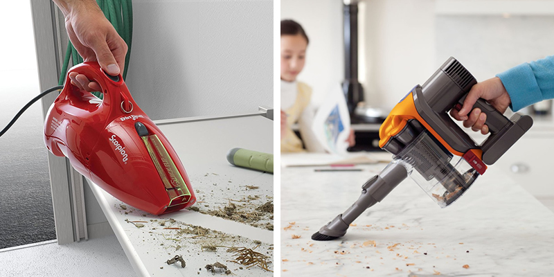 Corded and Cordless Vacuums
