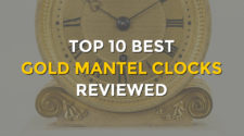 Top 10 Best Gold Mantel Clocks