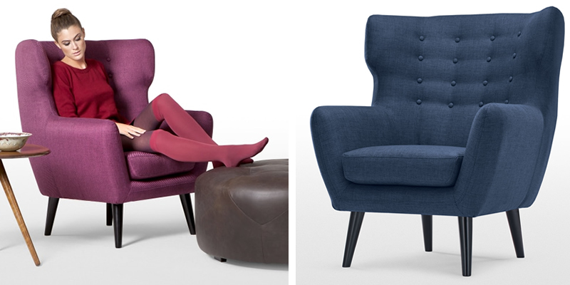 Kubrick Wingback Chair by MADE