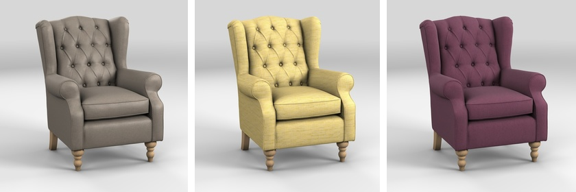 Sherlock Buttoned Chair by NEXT
