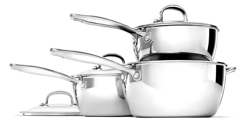 OXO Good Grips Stainless Steel Saucepan Set