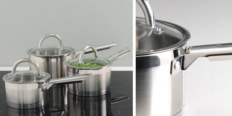 ProCook Stainless Steel Saucepan Set