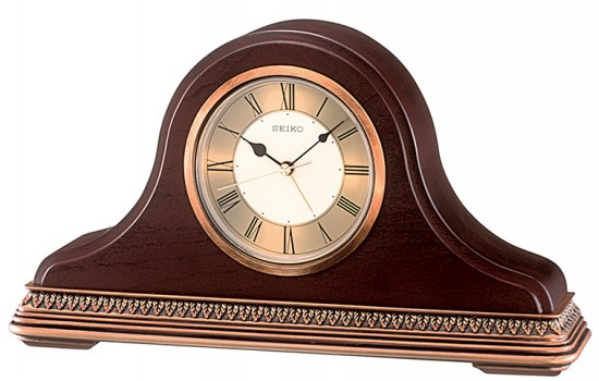Seiko Wooden Mantel Clock | QXE017B