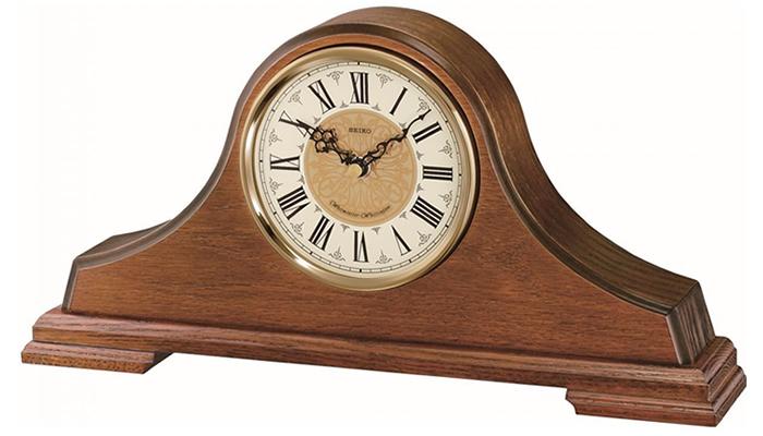 Seiko Wooden Mantel Clock | QXJ013B
