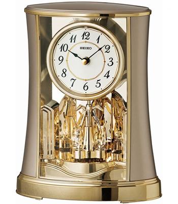 Seiko Rotating Pendulum Mantel Clock
