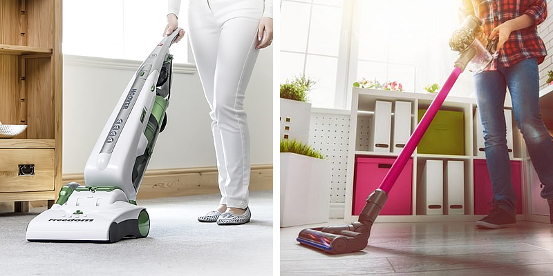 Upright Vacuum Cleaners and Stick Vacs