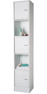 HOME Tall Bathroom Storage Cabinet