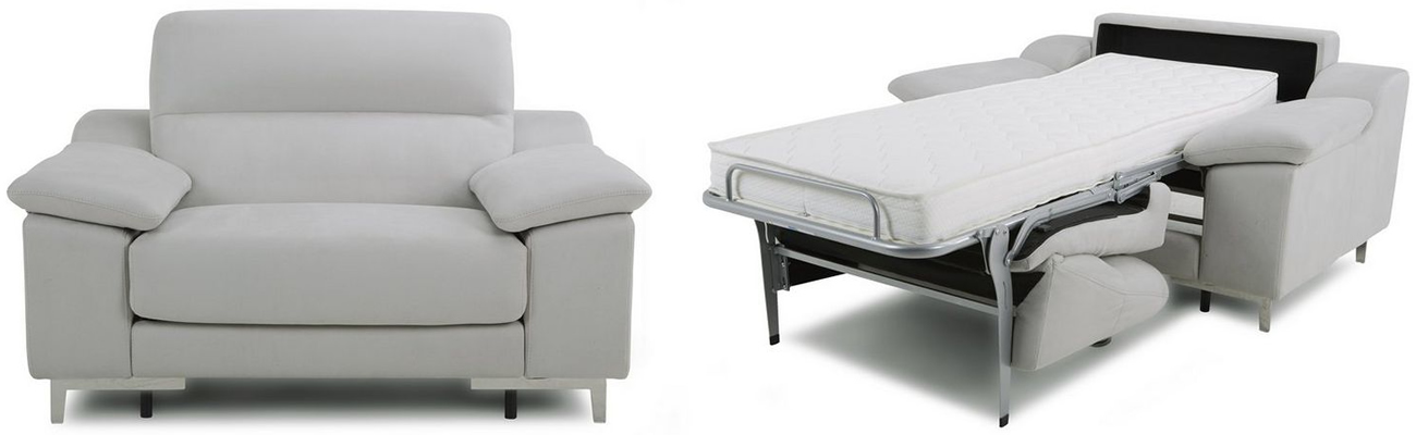 Guest Cuddler Single Sofa Bed