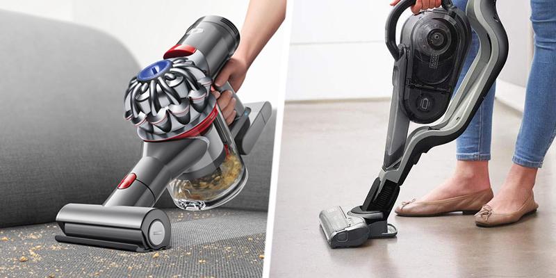 Handheld Vacuum and Stick Vacuum