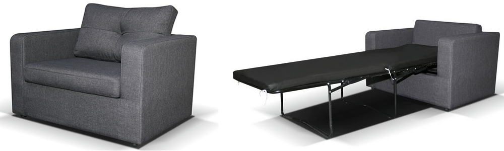 Sabichi Max Single Fabric Chairbed