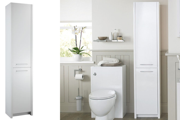 OpenSpace 305 Tall Bathroom Storage Cabinet