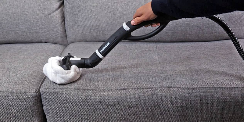 Steam Cleaning Sofa