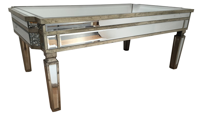 Vintage Mirrored Coffee Table by Alterton Furniture