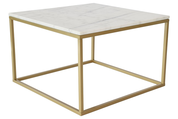 Marble Square Coffee Table by Hazelwood Home