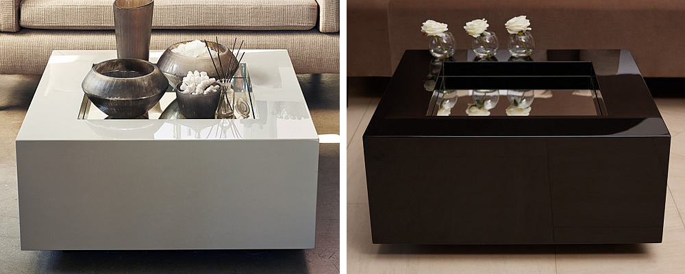 The Box Mirror Coffee Table by Kelly Hoppen