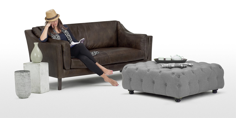 Made Branagh Large Ottoman Footstool
