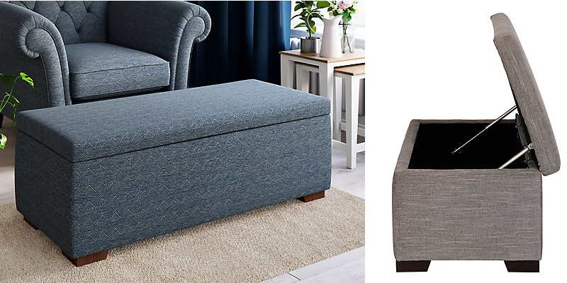 Top 10 Best Ottoman Coffee Tables Leather And Upholstered