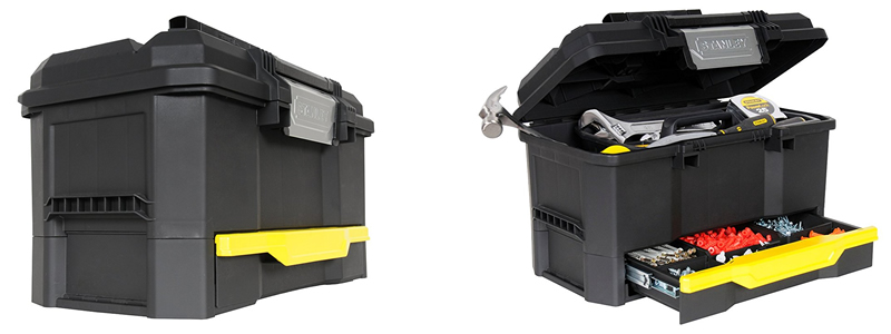 """Stanley 19"""" Toolbox with Drawer 