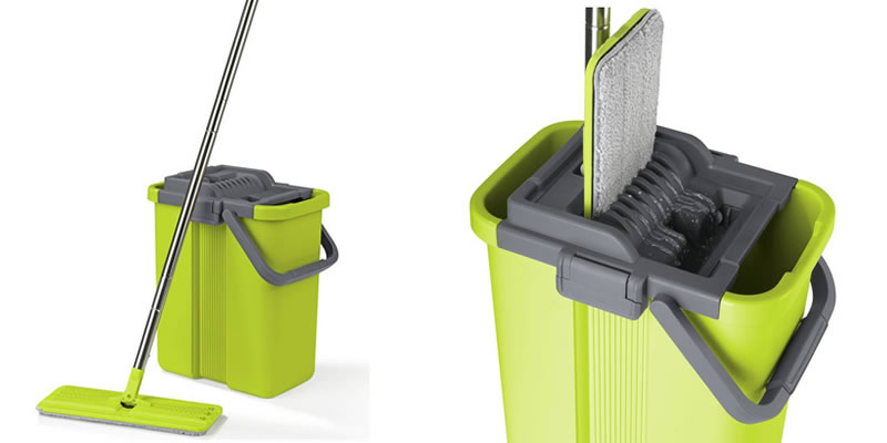 Cleanmaxx Mop and Bucket Set with Wringer