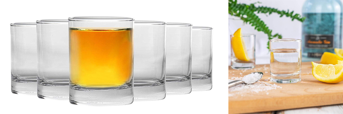 Rink Drink Shot Liqueur Glasses
